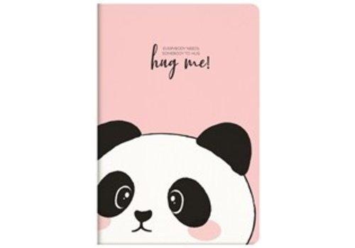 Legami Legami Quaderno A5 Medium Plain Notebook Panda
