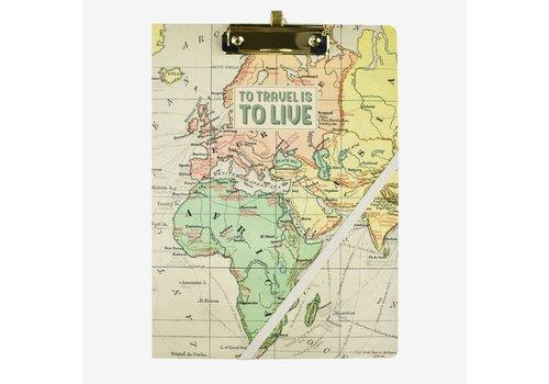 Legami Legami Klembord Map Travel