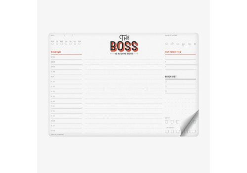 Legami Legami Smart Notes Boss Papieren Muismat & Notablok