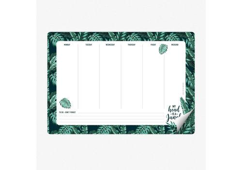 Legami Legami Smart Notes Jungle Papieren Muismat & Notablok