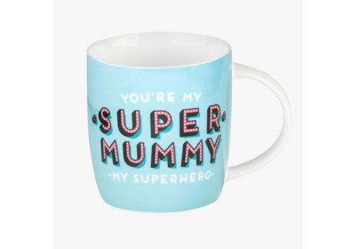 Legami Legami Buongiorno Mug - Aphorism - Super Mummy