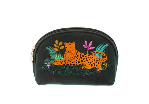 Sass & Belle Sass & Belle Leopard Love Cosmetic Bag