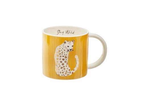 Sass & Belle Sass & Belle Keramieken Tas Luipaard