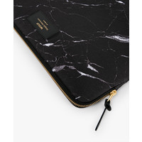 WOUF Black Marble Laptop Hoes 15""