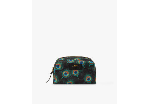 Wouf WOUF Peacock Big Beauty Toiletry Bag