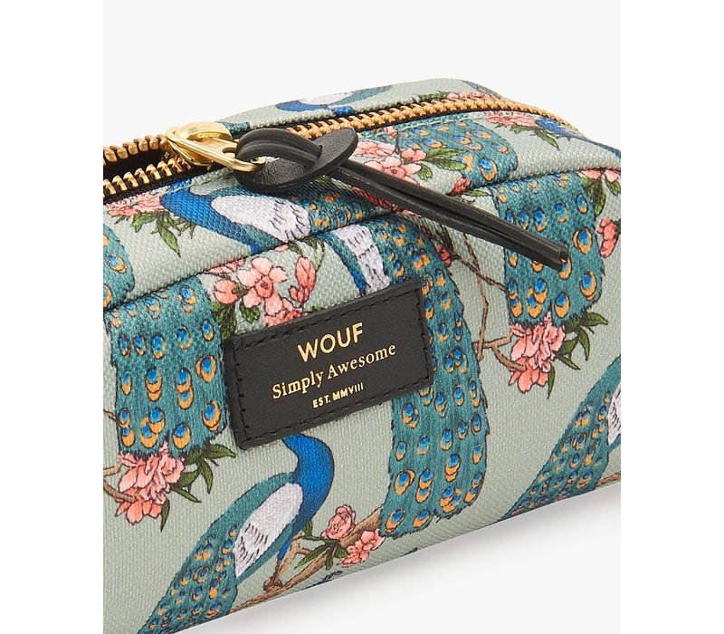 WOUF Royal Forest Small Beauty Toiletry Bag