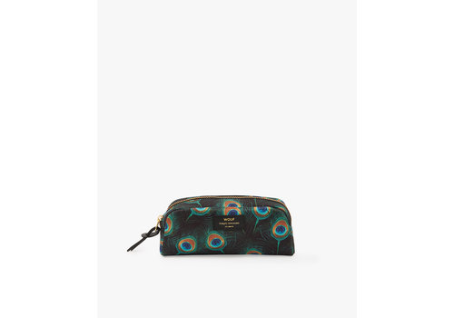 Wouf WOUF Peacock Small Beauty Toiletry Bag