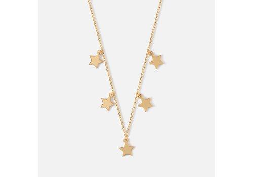 Orelia Orelia Star Charm Multi Drop Short