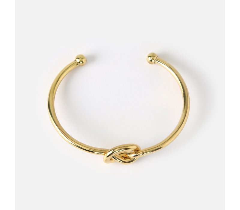 Orelia Chunky Knot Bangle