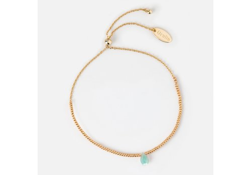 Orelia Orelia Luck Healing Gem Bracelet Aventurine