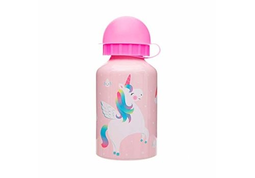 Sass & Belle Sass & Belle Rainbow Unicorn RVS Drinkfles 300 ml