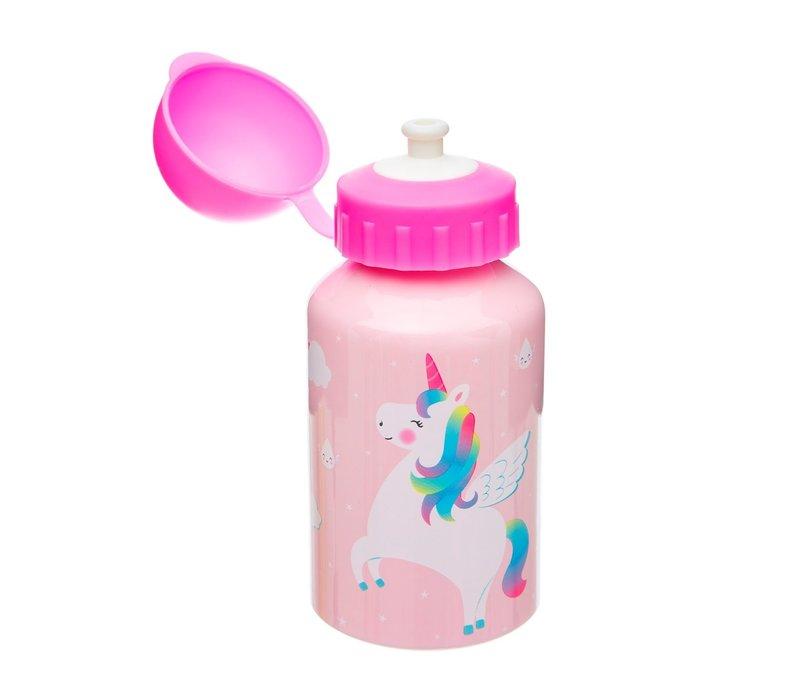 Sass & Belle Rainbow Unicorn RVS Drinkfles 300 ml