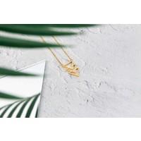 Kuku Necklace Triangle Gold