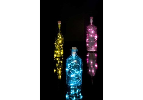 Suck UK Suck UK Multicolor Bottle String Light Rechargeable