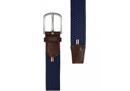 La Boucle La Boucle Original Belt Paris Navy Blue 105 cm