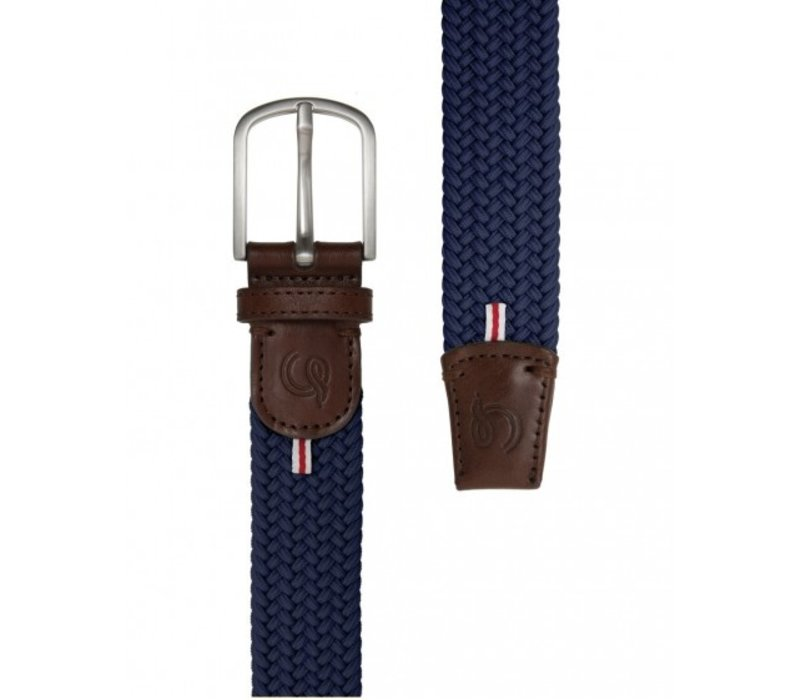 La Boucle Original Belt Paris Navy Blue 105 cm