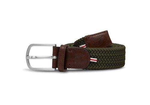 La Boucle La Boucle Original Belt Edinburgh Green 105 cm