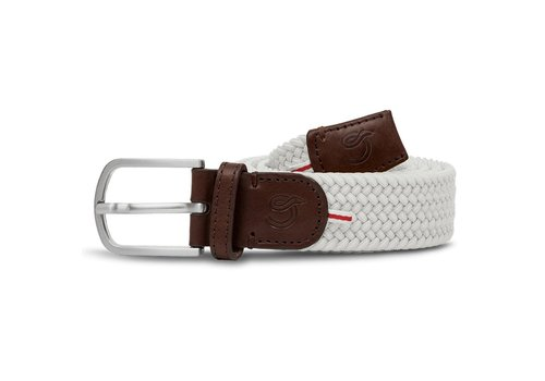 La Boucle La Boucle Original Belt Lisbon White 105 cm