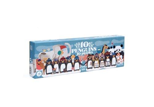 Londji Londji Puzzel 10 Pinguïns 45 st