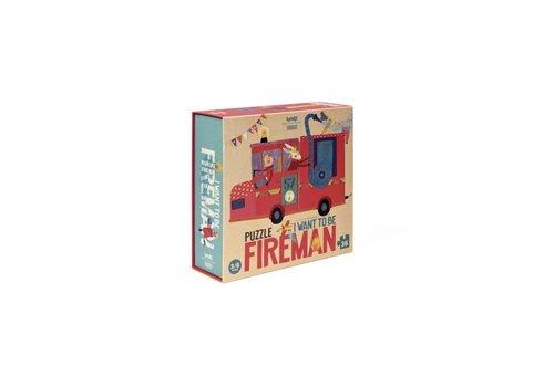 Londji Londji Puzzel I want to be Fireman 36 st