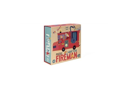 Londji Londji Puzzle I want to be Fireman 36 pcs