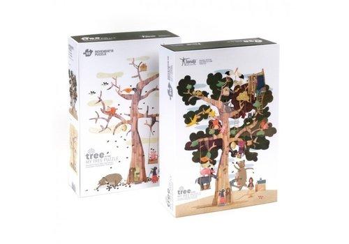 Londji Londji Puzzel My Tree Omkeerbare Puzzel 50 st