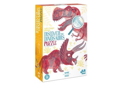 Londji Londji Observatiepuzzel Discover the Dinosaurs 200 st
