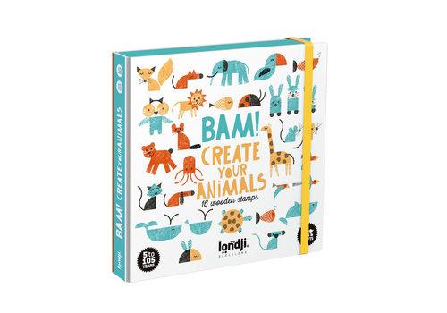 Londji Londji BAM! Animals Creatieve Stempelset