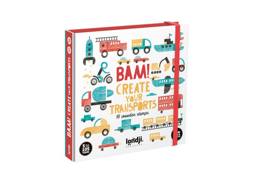 Londji Londji BAM! Create Your Transports with Stamps