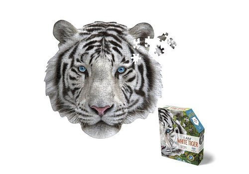 Madd Capp Madd Capp Puzzle I Am Puzzle Mini White Tiger 300 pcs