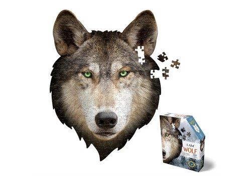 Madd Capp Madd Capp Legpuzzel I Am Puzzle Mini Wolf 300 st