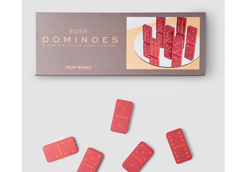 Printworks Printworks Play Dominoes Game