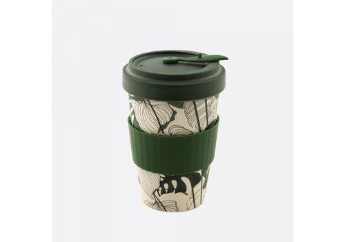 Point-Virgule Point-Virgule Tasse de Voyage en Fibre de Bamboo Jungle 500 ml