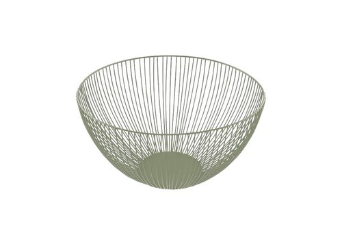 Point-Virgule Point Virgule Wire Basket Salie Green 25 cm
