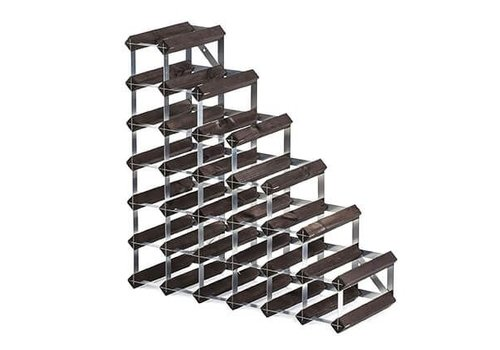 Traditional Wine Rack Co. Traditional Wine Rack Co.Stairs Wijnrek onder Trap Verbrande Eik