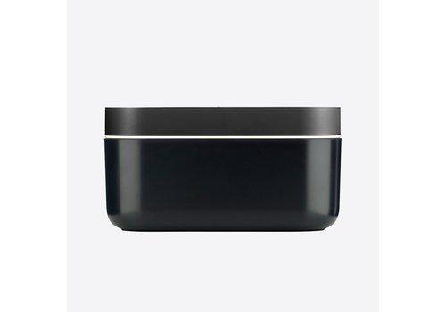 LEKUE Lekue Ice Bucket With Ice Cube Shape Black