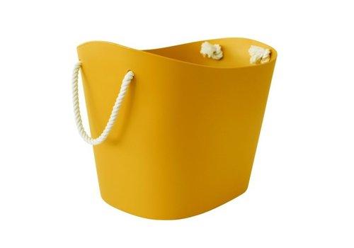 Balcolore Hachiman Balcolore Basket M Mustard Yellow