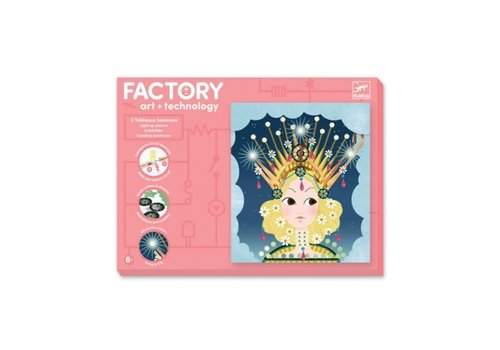 Djeco Djeco Factory Art & Technology Craftsset Tiaras