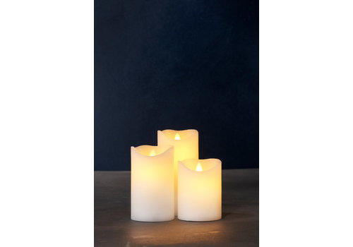 Sirius Sirius Sara Set of 3 LED Candles