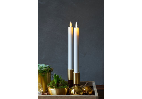 Sirius Sirius Sara Set of 2 Tall LED Candles 25 cm