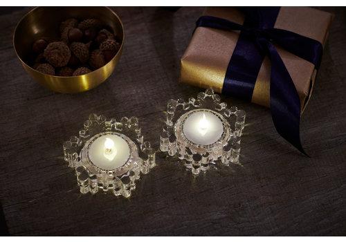 Sirius Sirius Snowflake Set of 2 LED Tealights