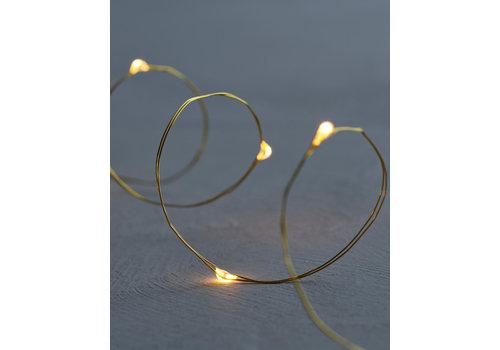 Sirius Sirius Knirke Lightstring 20 LED Lights Gold