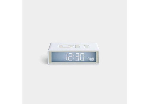 Lexon Lexon Flip Alarm Clock Travel White
