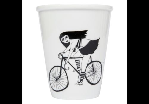 Helen B Helen B Porcelain Cup Fixie Girl