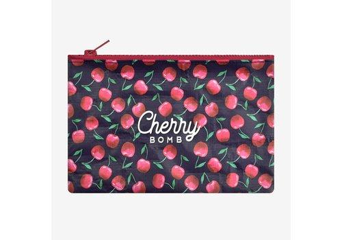 Legami Legami Zipper Pouch Cherry Bomb