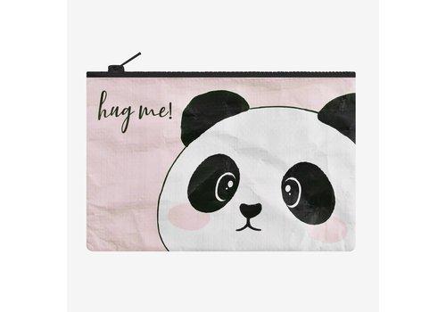Legami Legami Zipper Pouch Panda Hug me