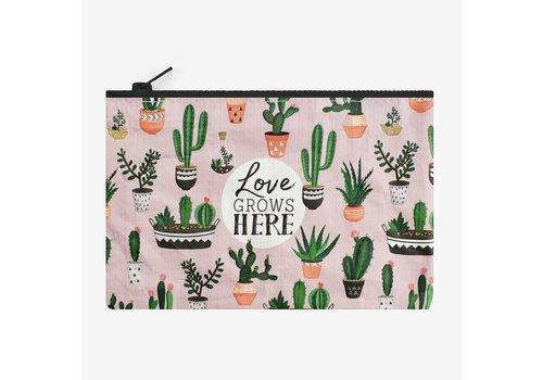 Legami Legami Zipper Pouch Cactus Grows Here