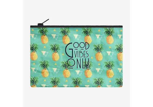 Legami Legami Zipper Pouch Pineapple