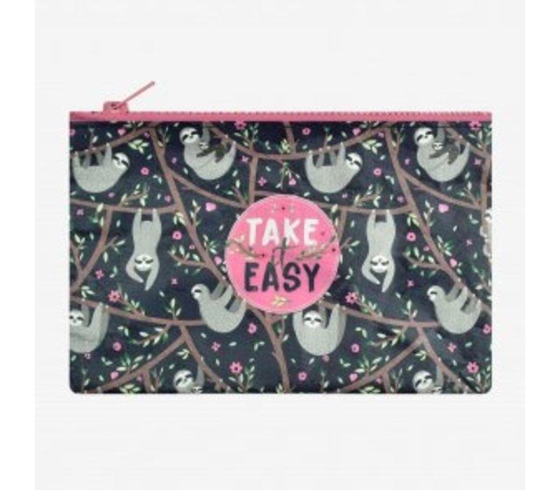 Legami Tasje Kleingeld Funky Collection Take it Easy