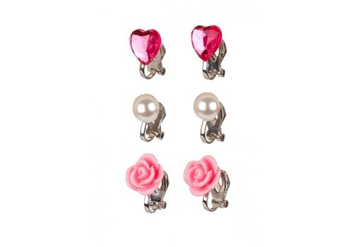 Souza! Souza! Ear Clips Hila Set of 3 pairs